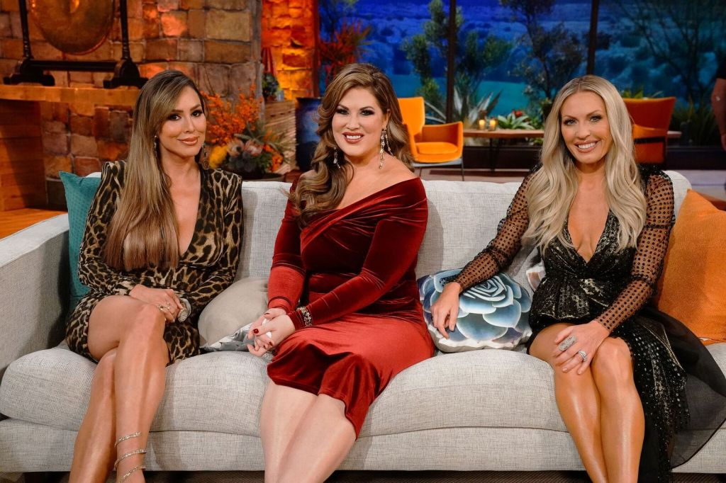 Kelly Dodd, Emily Simpson, Braunwyn Windham-Burke, The Real Housewives of Orange County, RHOC, RHOC Reunion, Bravo