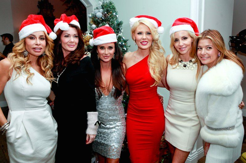 Faye Resnick, Lisa Vanderpump, Kyle Richards, Gretchen Rossi, Camille Grammer, Dana Wilkey, The Real Housewives of Beverly Hills, Bravo, RHOBH