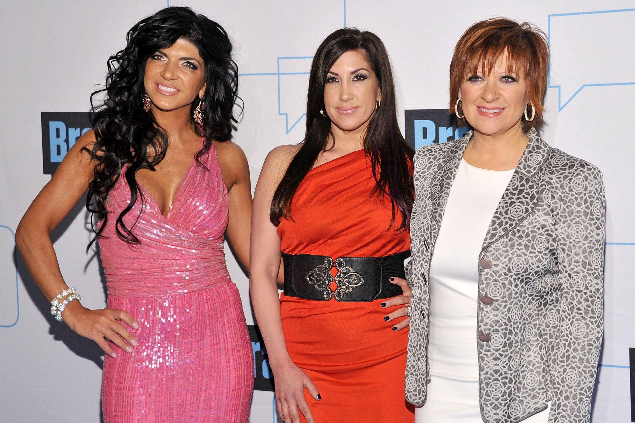 Teresa Giudice, Jacqueline Laurita, Caroline Manzo, The Real Housewives of New Jersey, RHONJ
