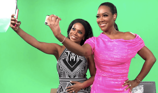 Kandi Burruss, Kenya Moore, The Real Housewives of Atlanta After Show, RHOA After Show, Bravo