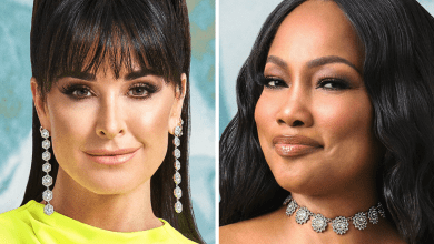 Kyle Richards, Garcelle Beauvais, Andy Cohen, Watch What Happens Live, WWHL, RHOBH, The Real Housewives of Beverly Hills, Bravo