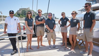 Below Deck Sailing Yacht season 1 reunion, Below Deck Sailing Yacht reunion, Below Deck Sailing reunion, Bravo, Bravo TV, Jenna MacGillivray, Georgia Grobler, Paget Berry, Ciara Duggan, Madison Stalker, Georgia Grobler, Below Deck Sailing Yacht Season 2
