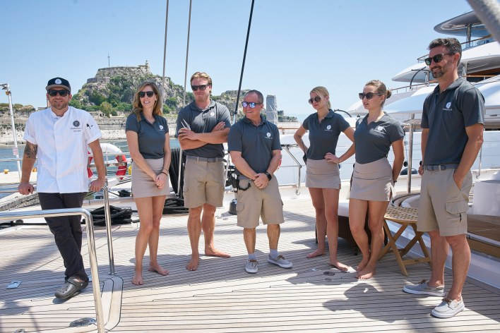Below Deck Sailing Yacht season 1 reunion, Below Deck Sailing Yacht reunion, Below Deck Sailing reunion, Bravo, Bravo TV, Jenna MacGillivray