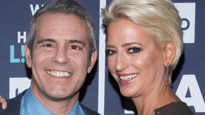 Andy Cohen, Dorinda Medley, RHONY, Bravo TV, The Real Housewives of New York City, Shed Media