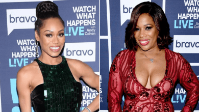 """Photo of Charrisse Jordan Takes 'RHOP' Feud With Monique Samuels To Twitter: """"I Am So Happy That [She] Is No Longer Crying About Her Bird Running Away"""""""