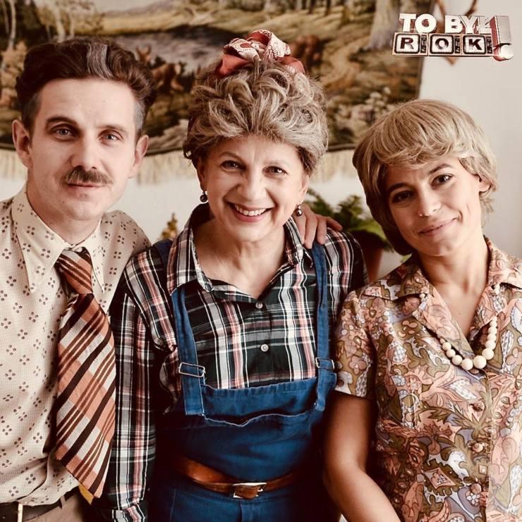 "Marzena Rogalska, Anna Mucha, Antoni Królikowski. ""TO BYŁ ROK!"". źródło: facebook.pl/tobylrok"