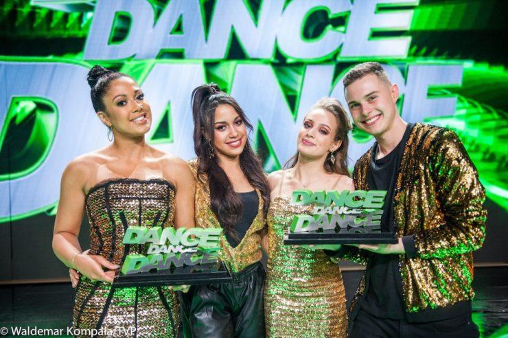 "Wiktoria Gąsiewska i Adam Zdrójkowski wygrali ""Dance, Dance, Dance""! (fot. Natasza Młudzik / Waldemar Kompała / TVP)"