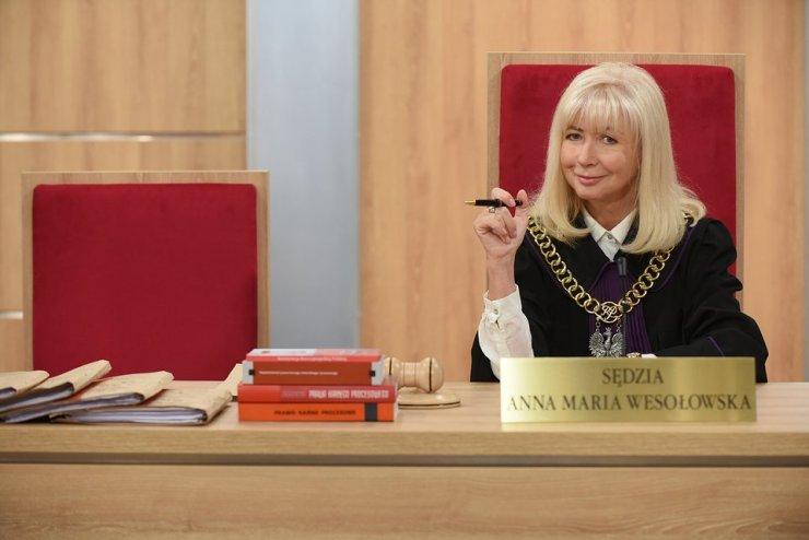 Sędzia Anna Maria Wesołowska 2019 (fot. TTV)