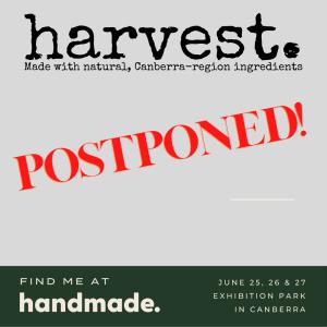 Handmade Markets Postponed