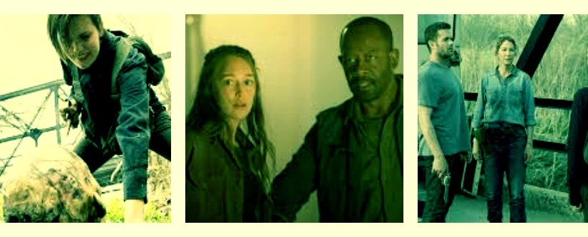 """Ranking the top 5 moments from """"Fear the Walking Dead"""" season 4 episode 9:  """"Yesterday is Yesterday"""""""