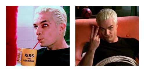 Spike vampire collage