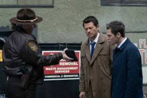 Supernatural Season 15 episode 15 Jack and Castiel