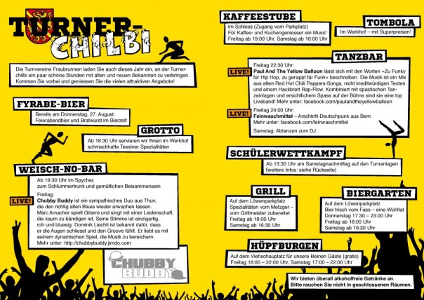Turner-Chilbi 2015 Flyer A6 Back