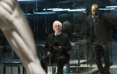 Anthony Hopkins and Jeffrey Wright in Westworld