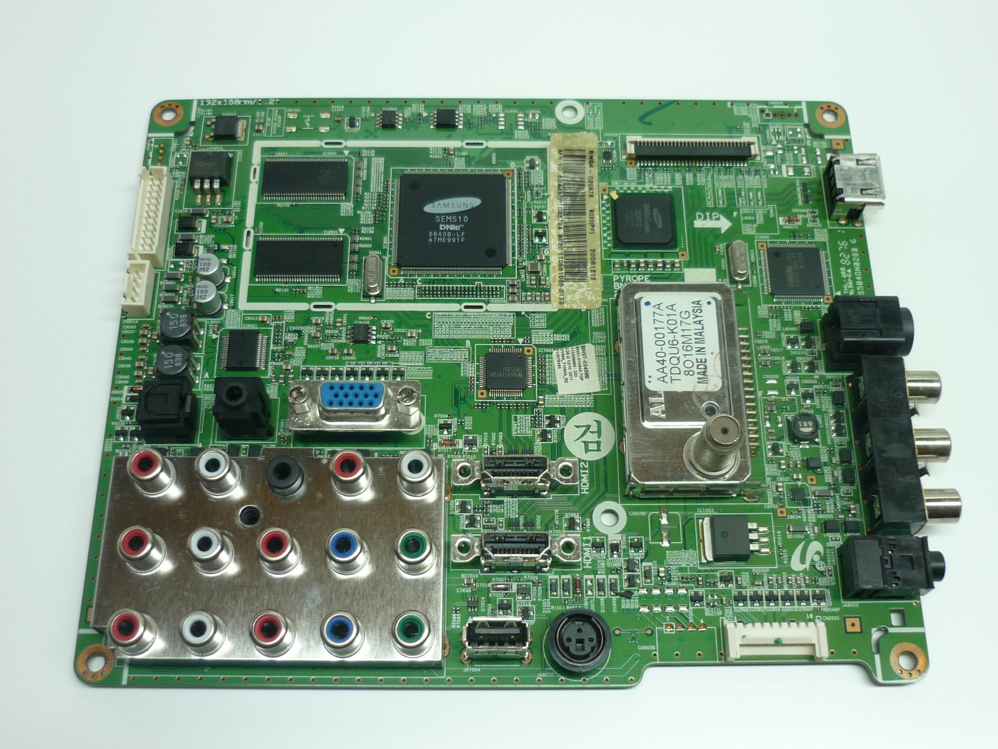Samsung BN94-02067B Main Board