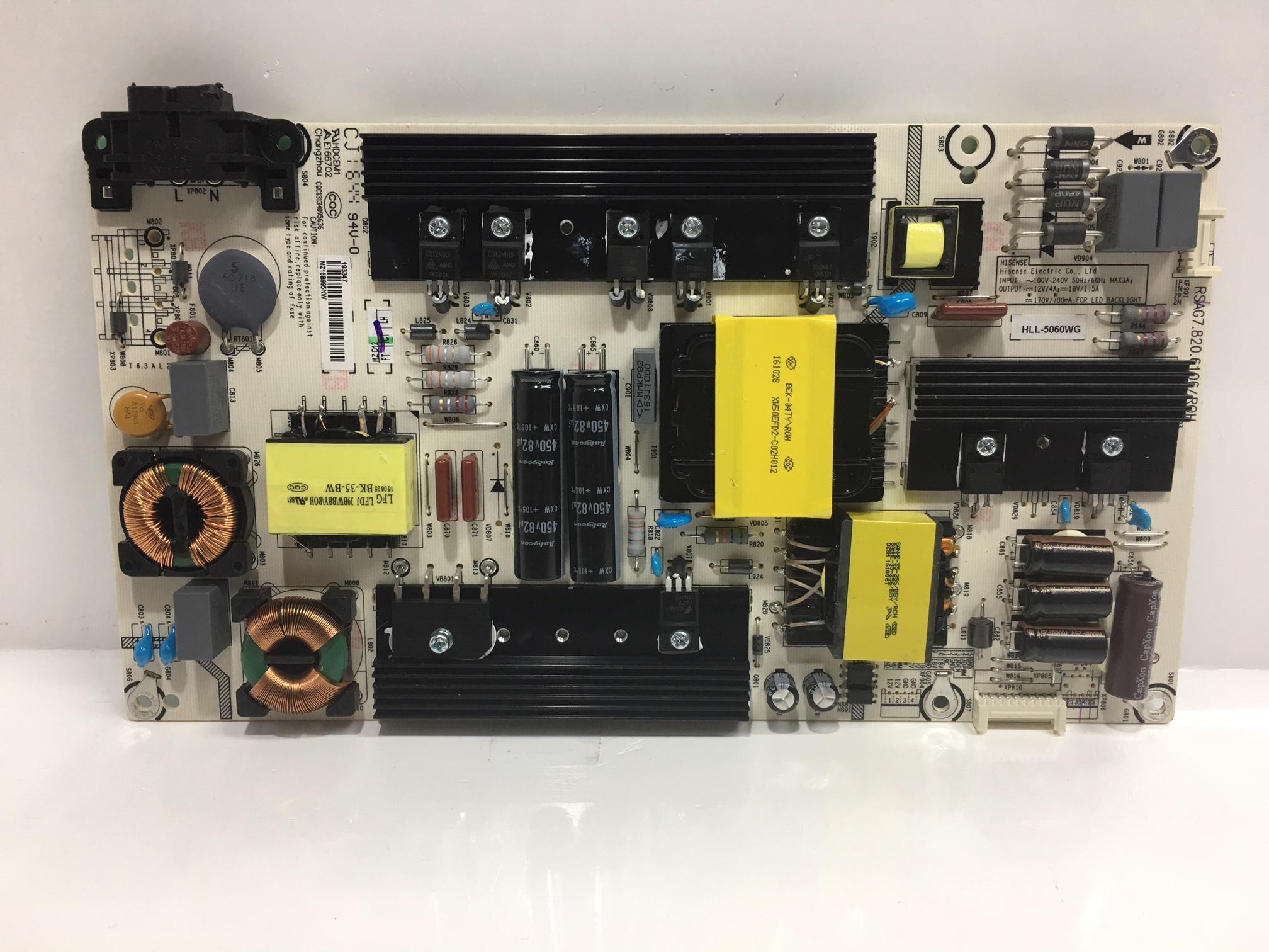 Hisense 193347 (RSAG7.820.5687/ROH, HLL-4855WN) Power Supply