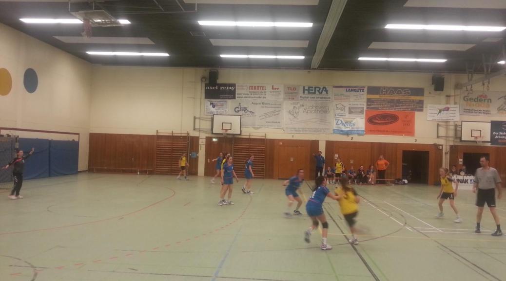 weibl. Jugend C, BOL| HSG Gedern/Nidda - TV Homberg 32:25 (13:12)