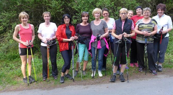 Nordic Walking Lauftreff ab dem 11.04.18 – 17:00 Uhr
