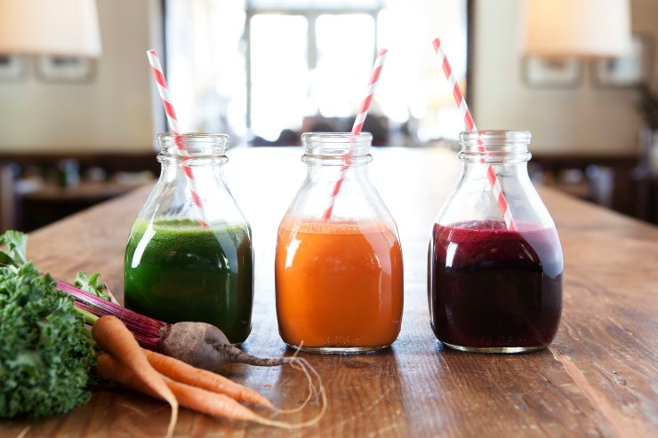 Kimpton Hotels & Restaurants national juice program