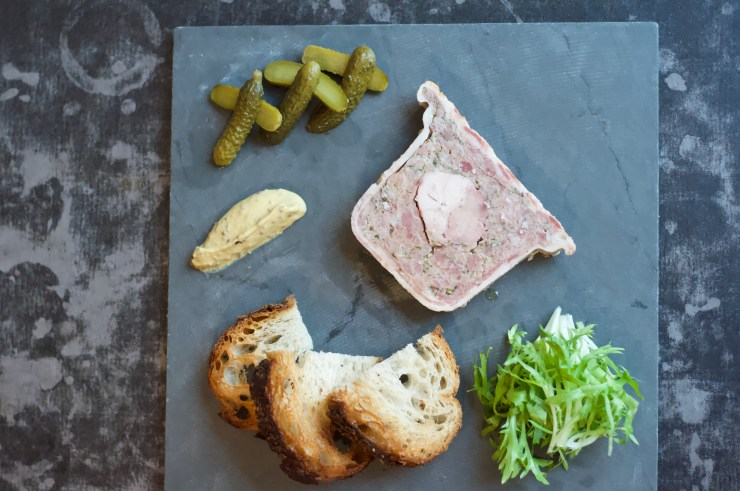 Duck Pate at Rotisserie Georgette restaurant New York