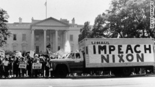 Nixon-Watergate Scandal - TV Impacts on America