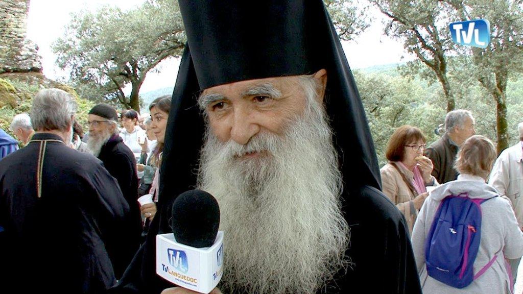 Frère Jean, moine au Skite Sainte Foy