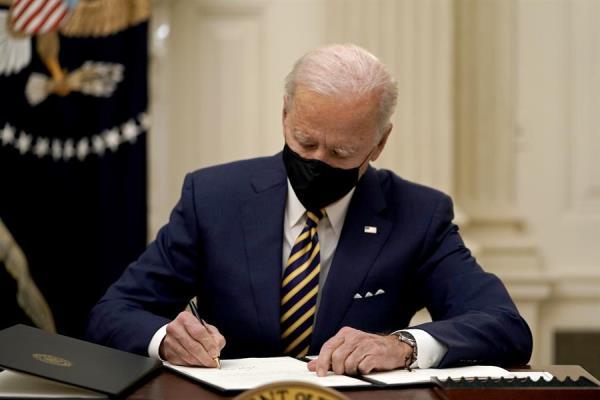 El presidente de Estados Unidos, Joe Biden,