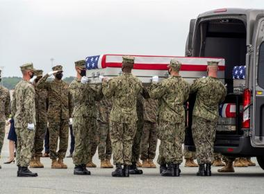 Dominicana muerta en Afganistán