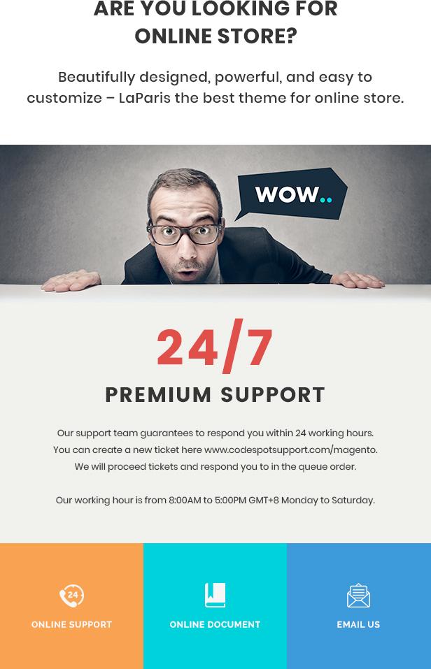 Laparis WordPress Theme
