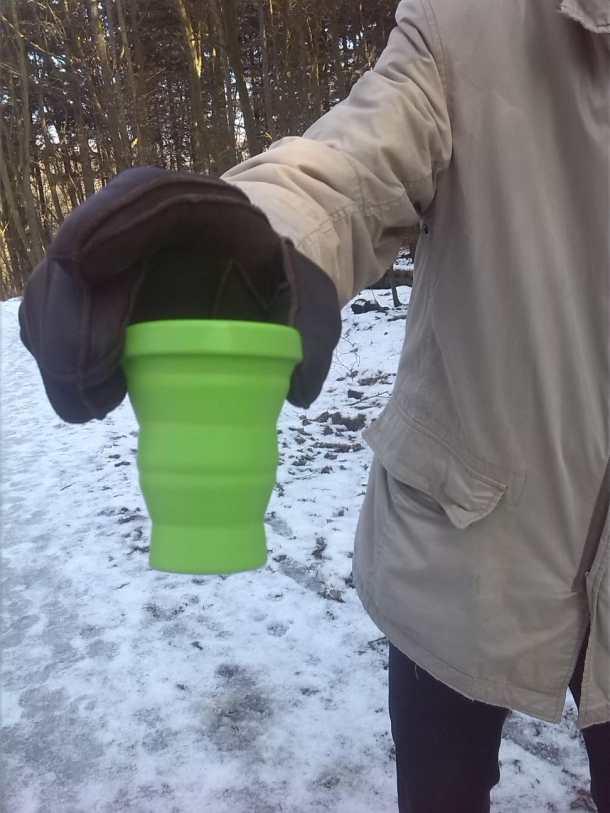 umwweltfreundliche Trinkbecher