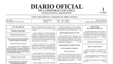 Ley emilia diario oficial