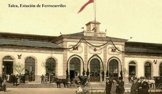 TALCA ESTACION DE FERROCARRILES