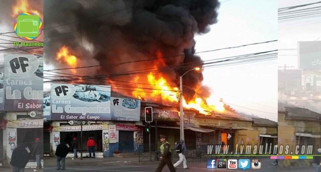 incendio talca 2