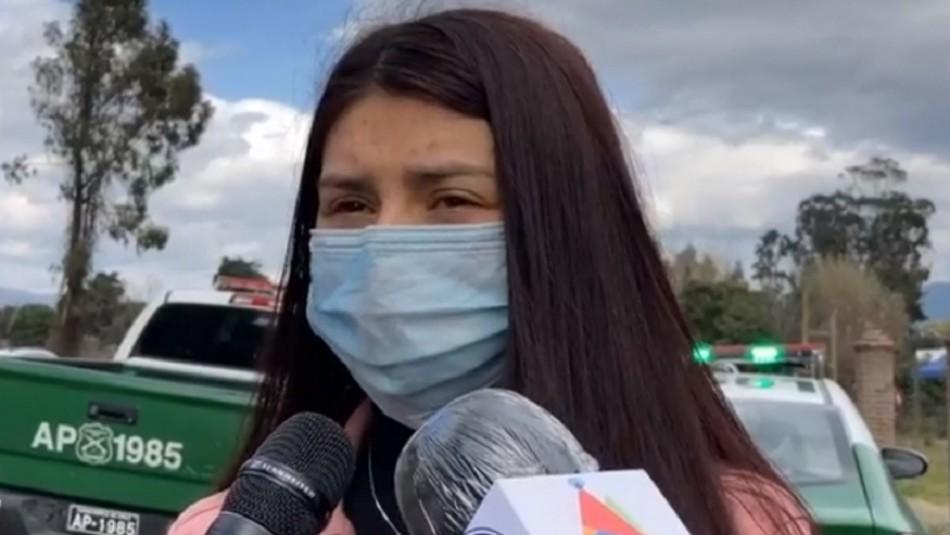 "Hermana de Joven asesinada en Linares: ""Que Chile se entere que no ..."