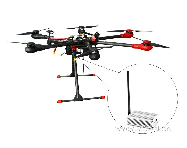 COFDM Transmitter Wireless Video Modulator UAV Micro HDMI NOLS module modulator HD