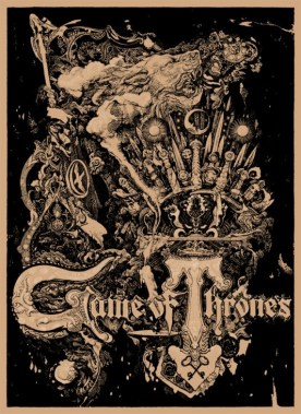 Game of Thrones Comic-Con 2012 Poster
