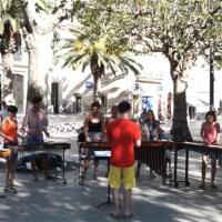 Stage de percussions du monde de l'école de musique de Mèze - Sérénade 1