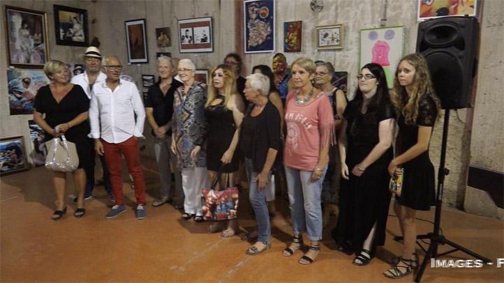 Balade artistique Mèzoise (avec présentation des artistes par le maire de Mèze)