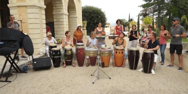 «La Carioca» interprétée par les élèves du stage de percussions de l'école de musique de Mèze