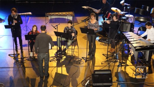 Concert denoël 2016 de l'école de musique de Mèze