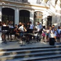 Hommage à Jacques Higelin par l'école de musique de Mèze
