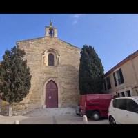 Mèze vue de la terre - La Chapelle des Pénitents