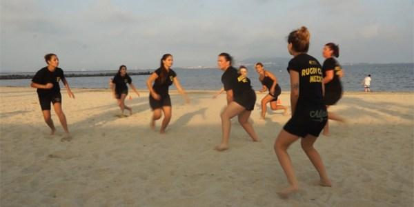 Les «Rosé Noir» l'équipe féminine du Rugby Club Mézois – Teaser musical