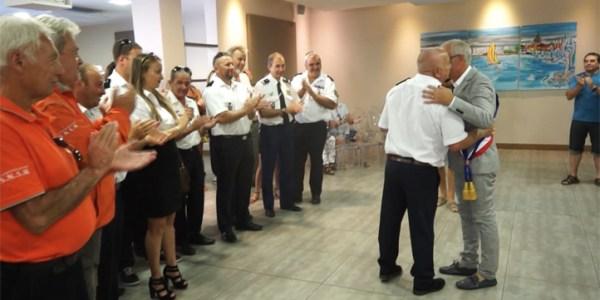 La ville de Mèze honore La Société Nationale de Sauvetage en Mer