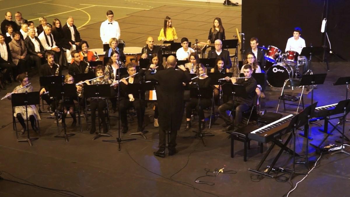 Une soirée à l'Opéra avec l'école de musique de Mèze - Extraits