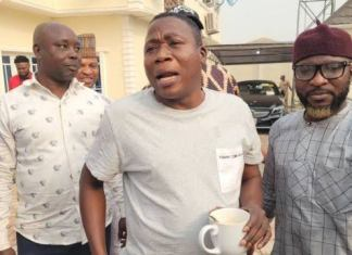 Igboho's lawyer claims that he is chained like an animal in Cotonou and refutes rumours of his release.