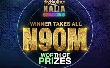 N90 million grand prize for the highest-ever BBNaija S6 organizers.