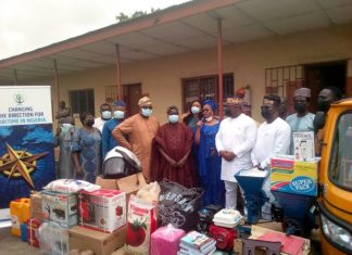 Lagos Govt Receives Items From NIMASA To Empower Underprivileged