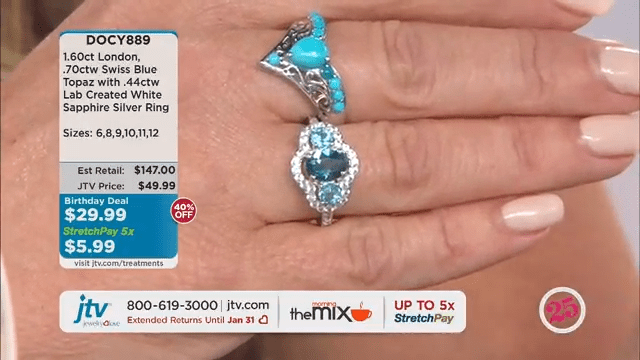 Jewelry Television Live Stream 6-58-23 screenshot