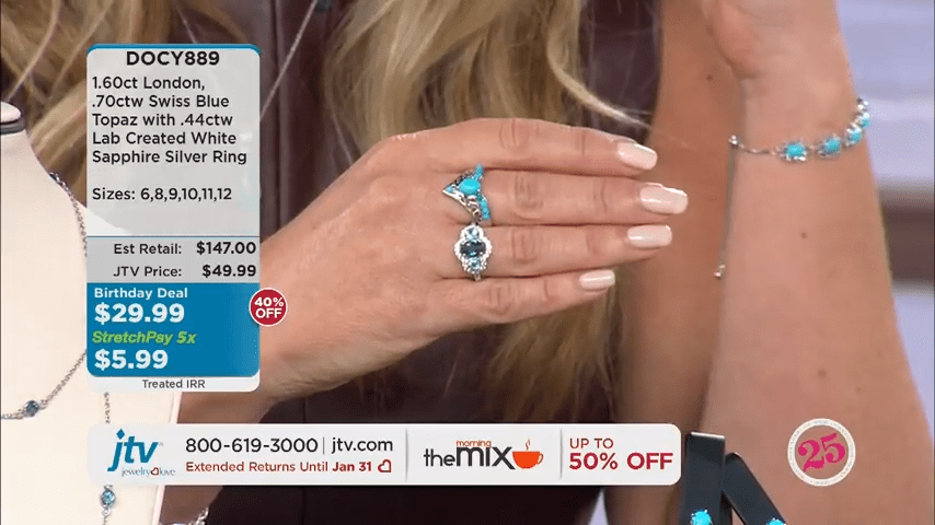Jewelry Television Live Stream 6-58-37 screenshot